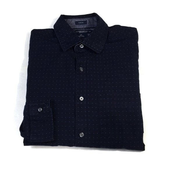 BF125 American Eagle Slim Fit Button Shirt S